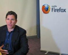 Gary Kovacs, CEO da Mozilla, lança sistema operacional da empresa no Brasil (Foto: Laura Brentano/G1)