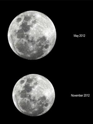 Fenômeno do 'Supermoon' acontece na noite deste sábado (5) (Foto: Laboratório Nacional de Astrofísica de Itajubá )
