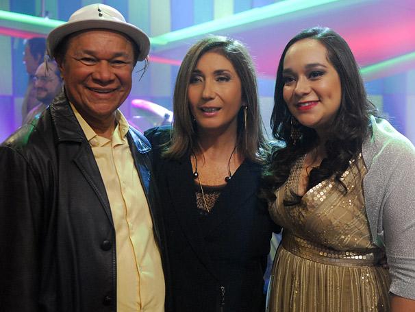 Dominguinhos, sua filha Liv Moraes e  Zizi Posse