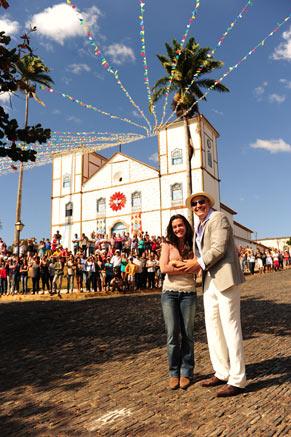 Igreja da cidade de Girassol