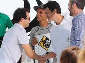 Felipe Massa e o Kitesurf
