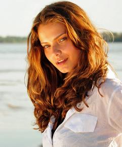 A atriz Milena Toscano (Foto: TV Globo)
