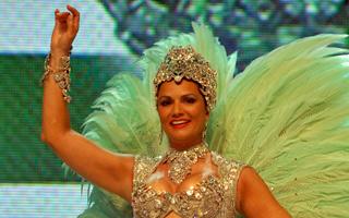 Luiza Brunet Imperatriz Leopoldinense (Foto: TV Globo)