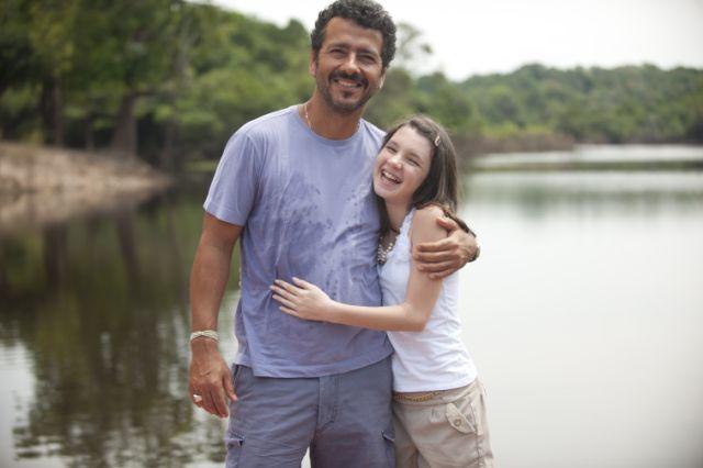 Marcos Palmeira na Amazônia (Foto: TV Globo / Ique Esteves)