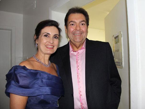 Fátima Bernardes aproveitou o evento para falar sobre seu novo programa em 2012 (Foto: Divulgação / TV Globo)