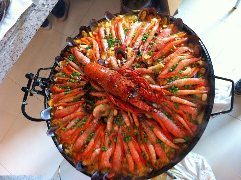 PAELLA R3  FRUTOS DO MAR  Peixes e frutos do mar