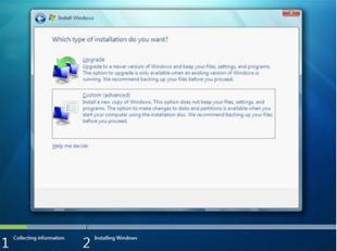 Tela de escolha do tipo de instalação (Foto: Reprodução/TechTudo)