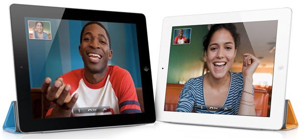 FaceTime no iPad 2 (Foto: Divulgação)