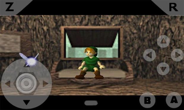 The Legend of Zelda: Ocarina of Time no N64oid (Foto: Reprodução)