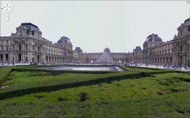 Museu do Louvre em Paris (Foto: Reprodução/Gustavo Ribeiro)