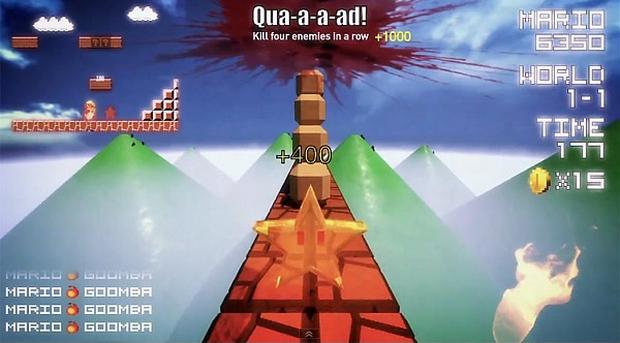 Super Mario em primeira pessoa (Foto: Reprodução)