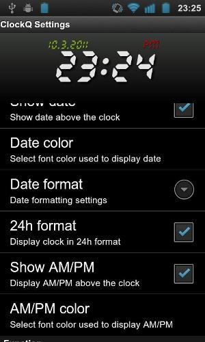 Configurações do relógio (Foto: Divulgação)