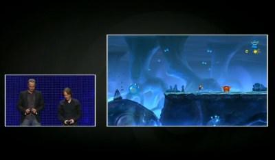 Rayman Origins conferência da Ubisoft na E3 (Foto: TechTudo)