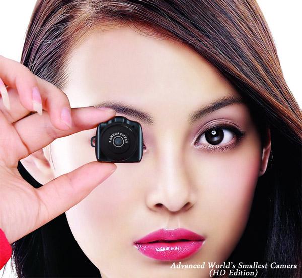 Menor câmera do mundo possui, também, qualidade. (Foto: Divulgação)