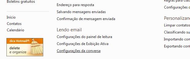 Deixando o Hotmail com cara de Gmail (Foto: Reprodução/TechTudo)
