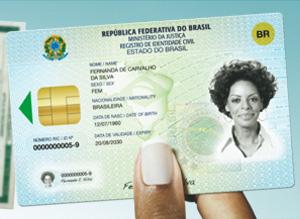 Registro de Identidade Civil (Foto: Divulgação)