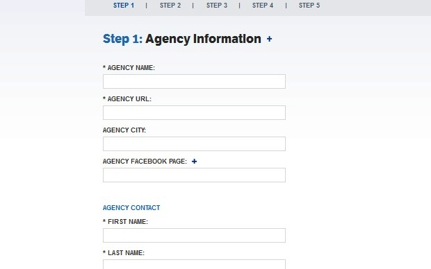 Formulário de inscrição no Facebook Studios (Foto: Reprodução/Fox Xavier)