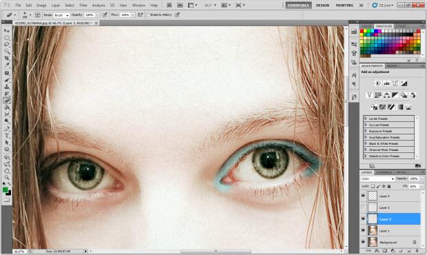 Blend Mode: Color (Foto: Reprodução/Juliane Costa)