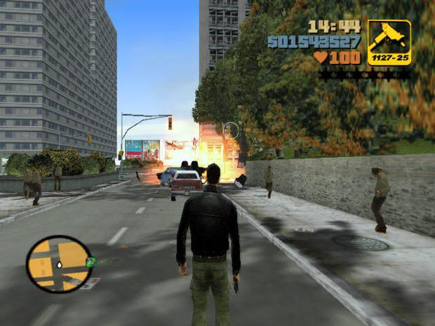 """""""Grand Theft Auto 3"""" de 2001  (Foto: Divulgação)"""