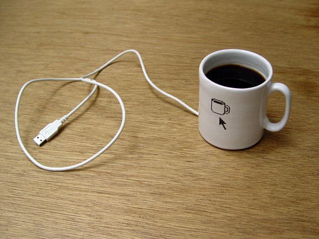 Por que não usar uma caneca como mouse? (Foto: Divulgação)