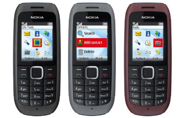 Um celular simples (Foto: Reprodução)