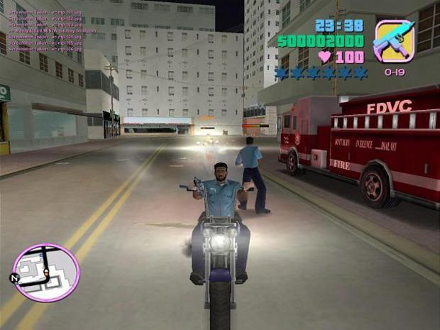 """""""Grand Theft Auto: Vice City"""" de 2002 (Foto: Divulgação)"""