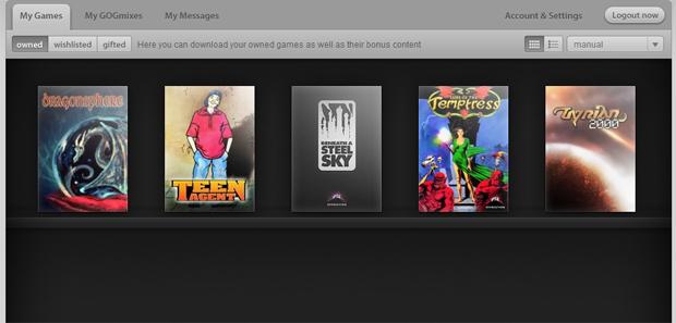 Jogos grátis no GOG.com (Foto: Reprodução)