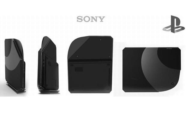 Conceito de design do PlayStation 4 (Foto: Yankodesign)
