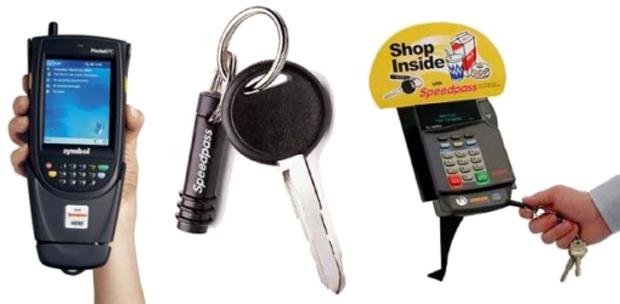 O modelo desenvolvido pela Speedpass é semelhante ao NFC, cujo pagamento pode ser efetuado pela aproximação do aparelho (Foto: Divulgação)