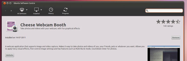 Tela de um programa específico (Foto: Reprodução/OMG Ubuntu)