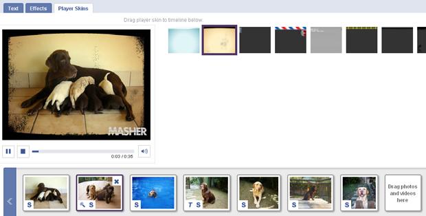 Fotos com moldura (Foto: Reprodução/TechTudo)