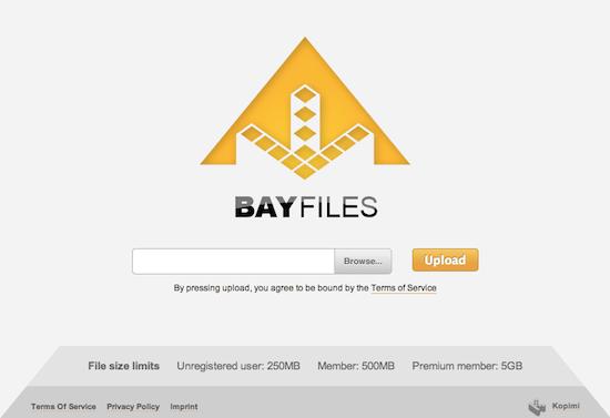 BayFiles (Foto: Reprodução)