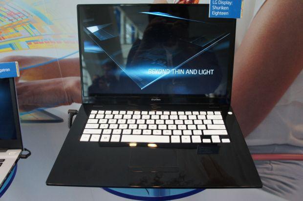 Shuriken Eighteen Ultrabook, da LG. (Foto: Divulgação)