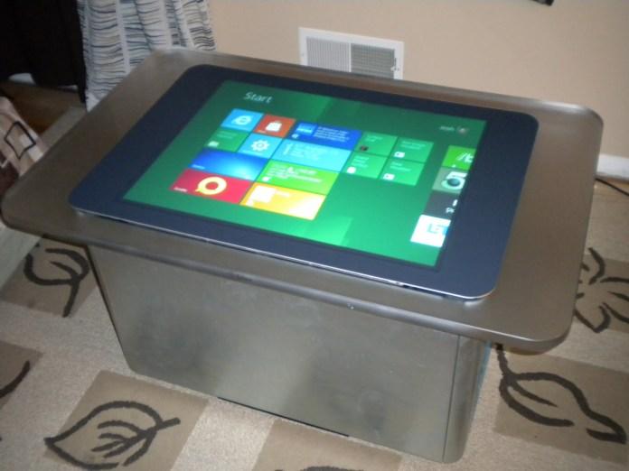 Windows 8 no Microsoft Surface 1.0. (Foto: Divulgação)