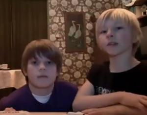 Michel e Sven (Foto: Reprodução)
