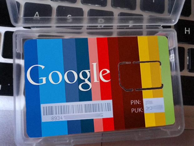 Suposto cartão SIM com a marca Google (Foto: Xatakandroid.com)
