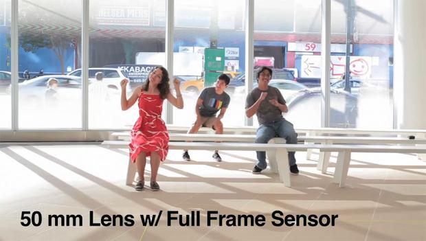 Sensor FullFrame (Foto: Reprodução/Vimeo/ Daniel Hayek)