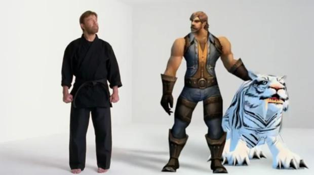 Chuck Norris participa de comercial de World of Warcraft (Foto: Divulgação)