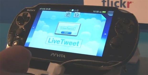 Twitter no PS Vita (Foto: Divulgação)