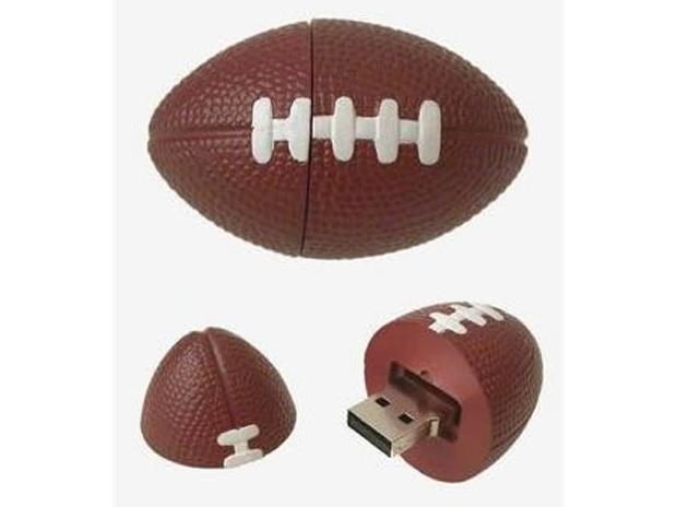 Pendrive Futebol Americano (Foto: Reprodução)