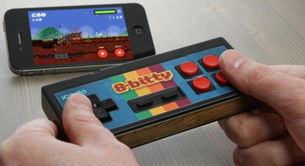 iCade 8bitty tem um design próximo ao do NES (Foto: Divulgação) (Foto: iCade 8bitty tem um design próximo ao do NES (Foto: Divulgação))
