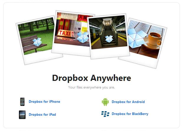 Dropbox para celular