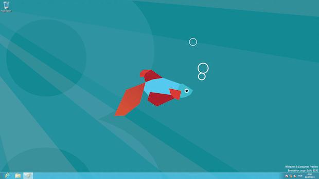 Windows 8 sem botão Iniciar (Foto: Reprodução)