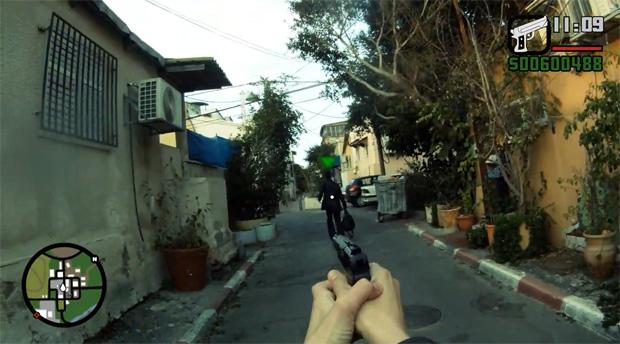 Vdeo Cria Pardia De GTA Em Primeira Pessoa E Na Vida