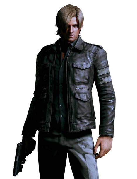 A jaqueta que Leon Kennedy usa em Resident Evil 6 (Foto: Divulgação)