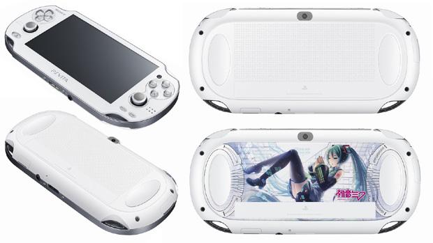 PlayStation Vita ganha modelo Crystal White no Japão e edição de Hatsune Miku (Foto: Siliconera)