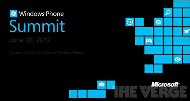 Convite enviado pela Microsoft aos desenvolvedores fala sobre futuro do Windows Phone (Foto: Reprodução/The Verge)