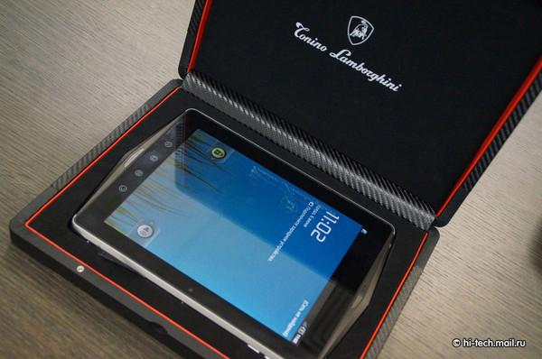 Tablet com tela de safari (Foto: Reprodução/ Hi-TechMail)