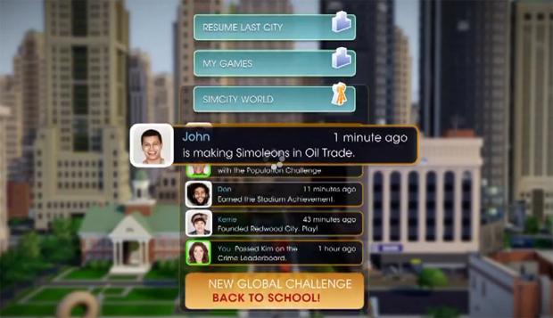 SimCity World (Foto: Reprodução) (Foto: SimCity World (Foto: Reprodução))