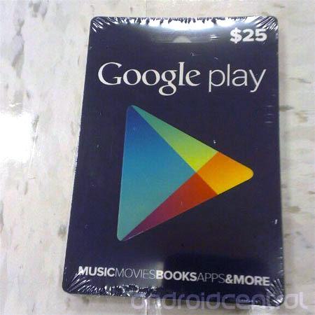 Vale-compras do Google Play será lançado em breve (Foto: Reprodução/Android Central)